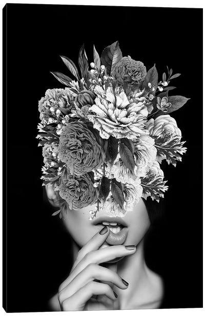 Floral V Canvas Art Print