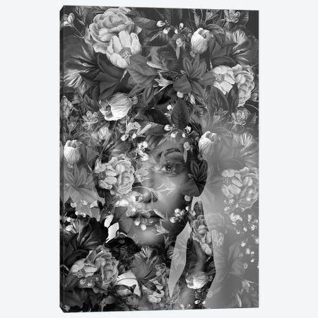 Spring II In Black And White Canvas Print #AMR116} by Tatiana Amrein Canvas Artwork
