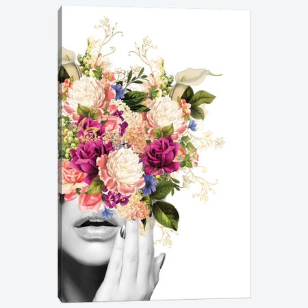 Flora I Canvas Print #AMR119} by Tatiana Amrein Art Print