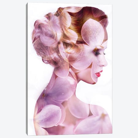 Bloom Canvas Print #AMR11} by Tatiana Amrein Art Print