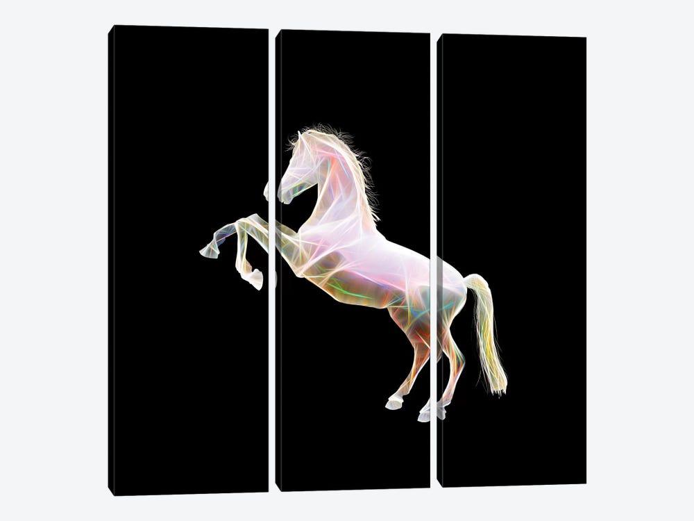 Dreamy Horse by Tatiana Amrein 3-piece Canvas Artwork