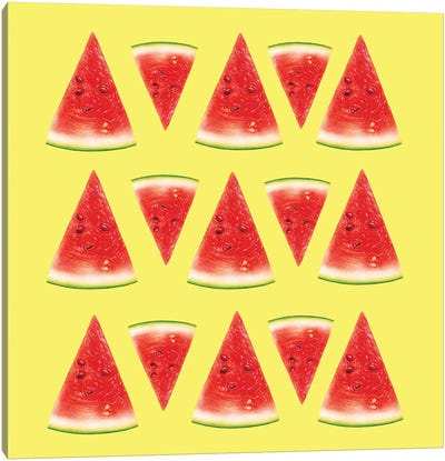 Melon Slices II Canvas Art Print