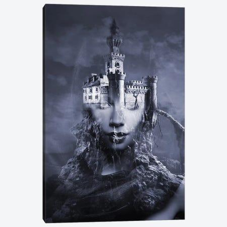 Darkness Canvas Print #AMR17} by Tatiana Amrein Canvas Artwork
