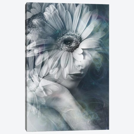 Flower Girl Canvas Print #AMR20} by Tatiana Amrein Canvas Wall Art