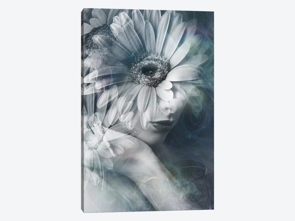 Flower Girl by Tatiana Amrein 1-piece Canvas Art Print
