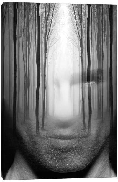 Forest Man Canvas Art Print