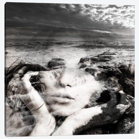 Girl Sea I Canvas Print #AMR24} by Tatiana Amrein Canvas Art Print