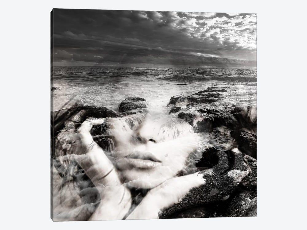 Girl Sea I by Tatiana Amrein 1-piece Canvas Art Print