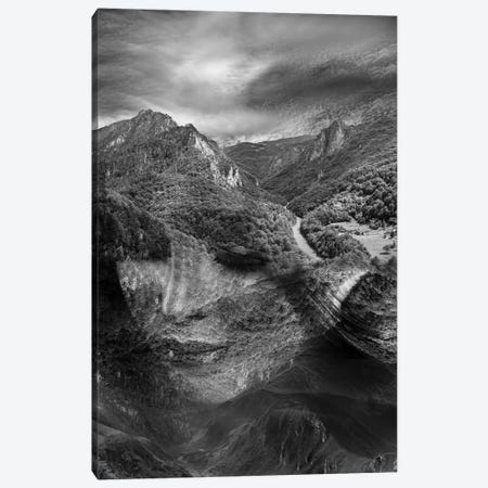 Mountain 3-Piece Canvas #AMR31} by Tatiana Amrein Art Print