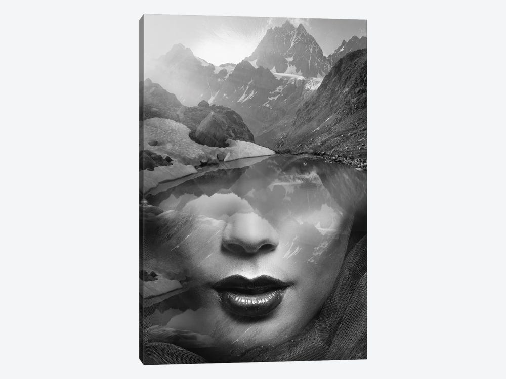 Mountain Lady 1-piece Canvas Artwork
