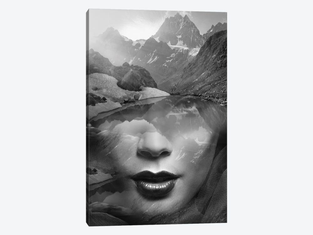 Mountain Lady by Tatiana Amrein 1-piece Canvas Artwork
