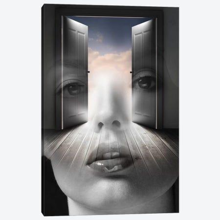 Open Your Mind Canvas Print #AMR33} by Tatiana Amrein Art Print
