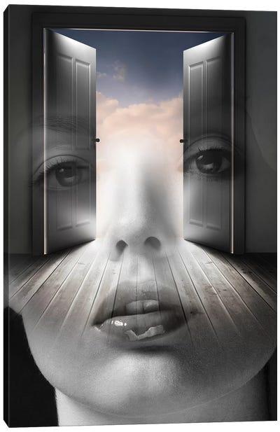 Open Your Mind Canvas Art Print