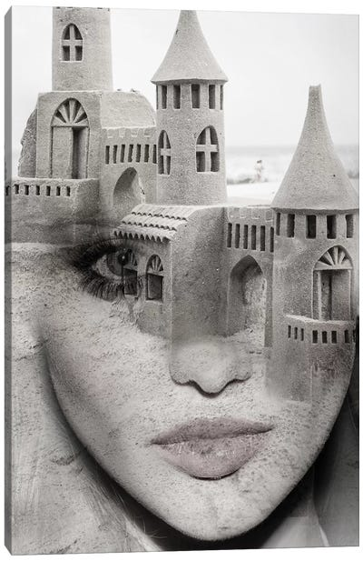 Sand Castle Canvas Art Print