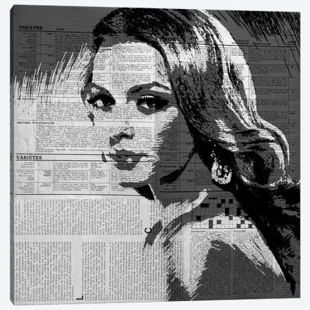 Too Late Canvas Print #AMR39} by Tatiana Amrein Canvas Art Print