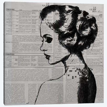 Alone Canvas Print #AMR3} by Tatiana Amrein Canvas Art