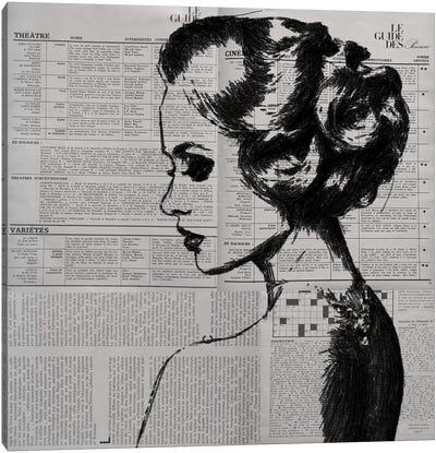 Alone Canvas Art Print
