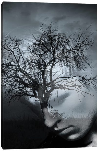 Tree Man II Canvas Art Print
