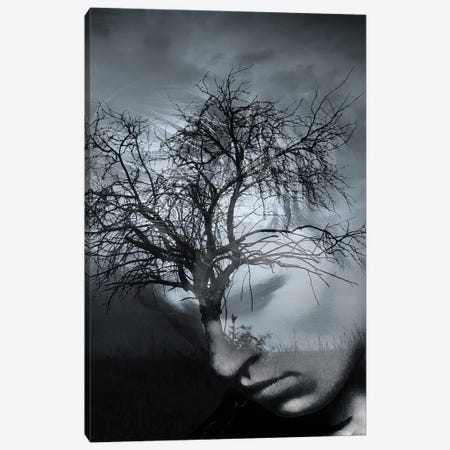 Tree Man II Canvas Print #AMR40} by Tatiana Amrein Canvas Wall Art