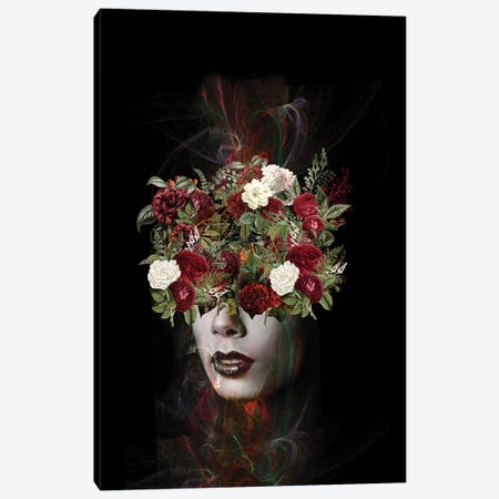 Flower Canvas Print #AMR46} by Tatiana Amrein Art Print