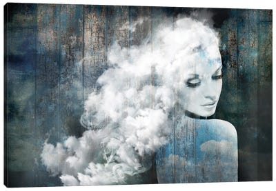 How Sweet To Be A Cloud Canvas Art Print