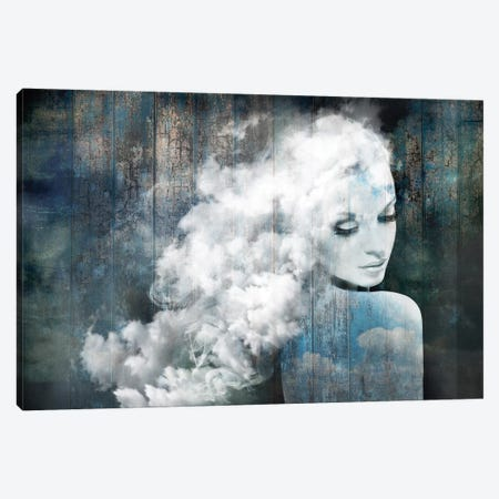 How Sweet To Be A Cloud Canvas Print #AMR47} by Tatiana Amrein Art Print