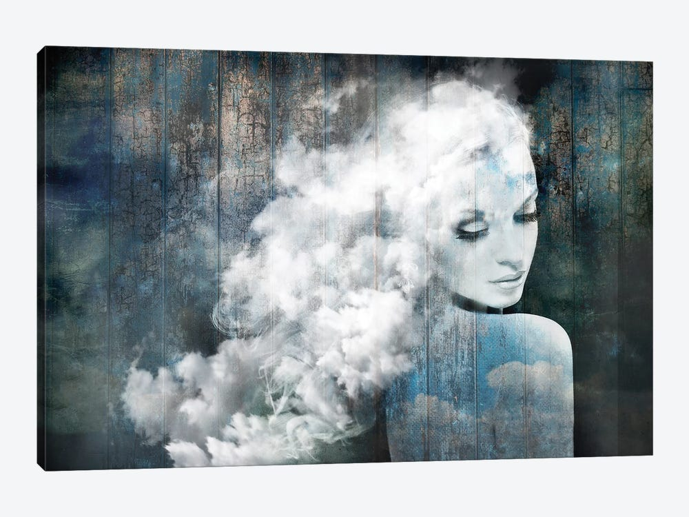 How Sweet To Be A Cloud by Tatiana Amrein 1-piece Canvas Wall Art