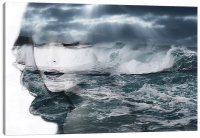 Sea Canvas Art Print
