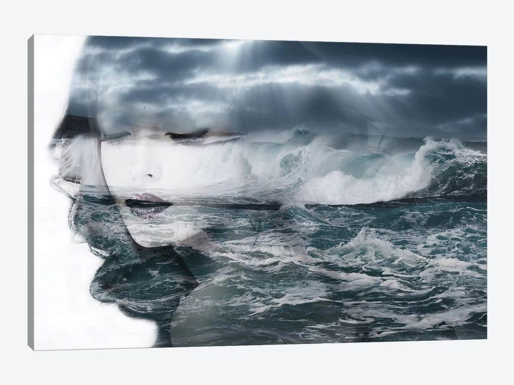 Sea by Tatiana Amrein 1-piece Canvas Art Print