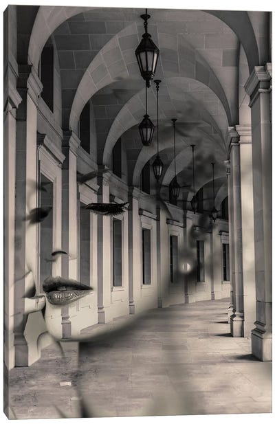 Arch Girl Canvas Art Print