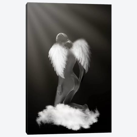 Angel Canvas Print #AMR60} by Tatiana Amrein Canvas Wall Art