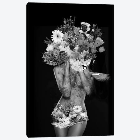 Flowers 3-Piece Canvas #AMR66} by Tatiana Amrein Art Print