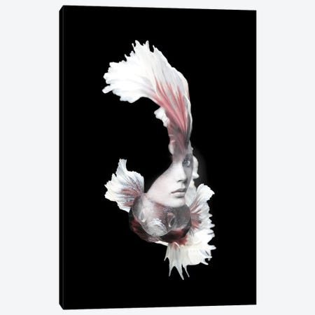 Fishing VI Canvas Print #AMR79} by Tatiana Amrein Art Print