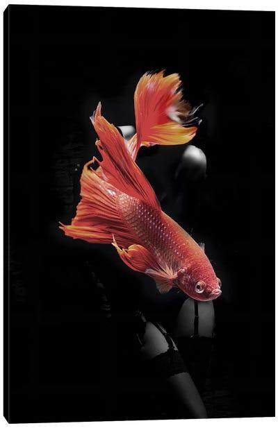 Fishing VII Canvas Art Print