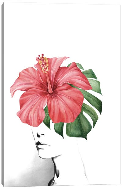 Hibiscus Canvas Art Print