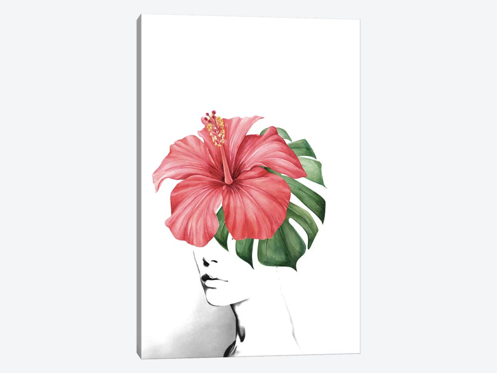 Hibiscus by Tatiana Amrein 1-piece Art Print