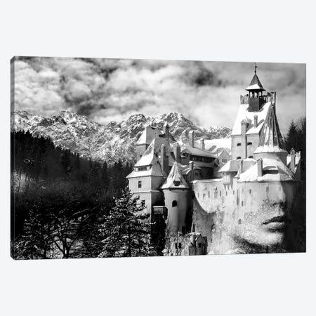 Castle Canvas Print #AMR89} by Tatiana Amrein Canvas Art