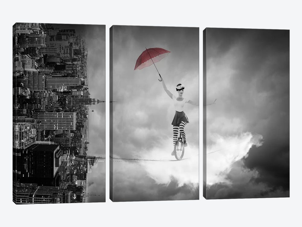 Equilible by Tatiana Amrein 3-piece Art Print