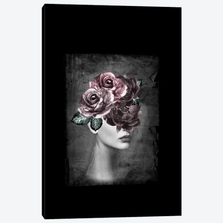 Flower Woman Canvas Print #AMR94} by Tatiana Amrein Canvas Art
