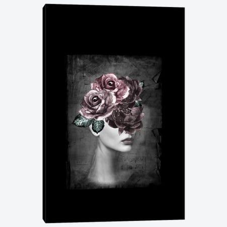 Flower Woman Canvas Print #AMR94} by Tatiana Amrein Canvas Art