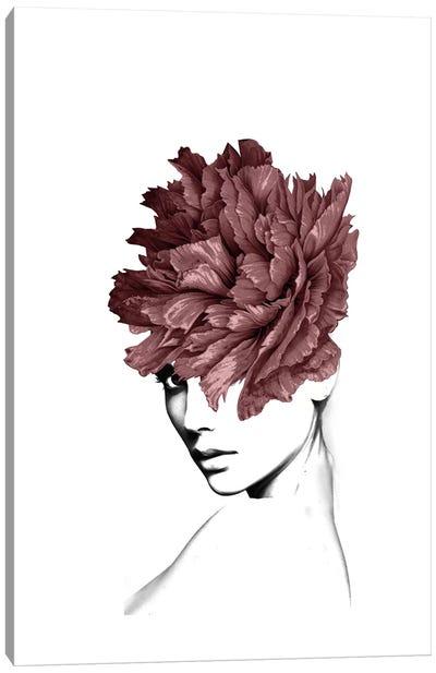 Lady Flower I Canvas Art Print