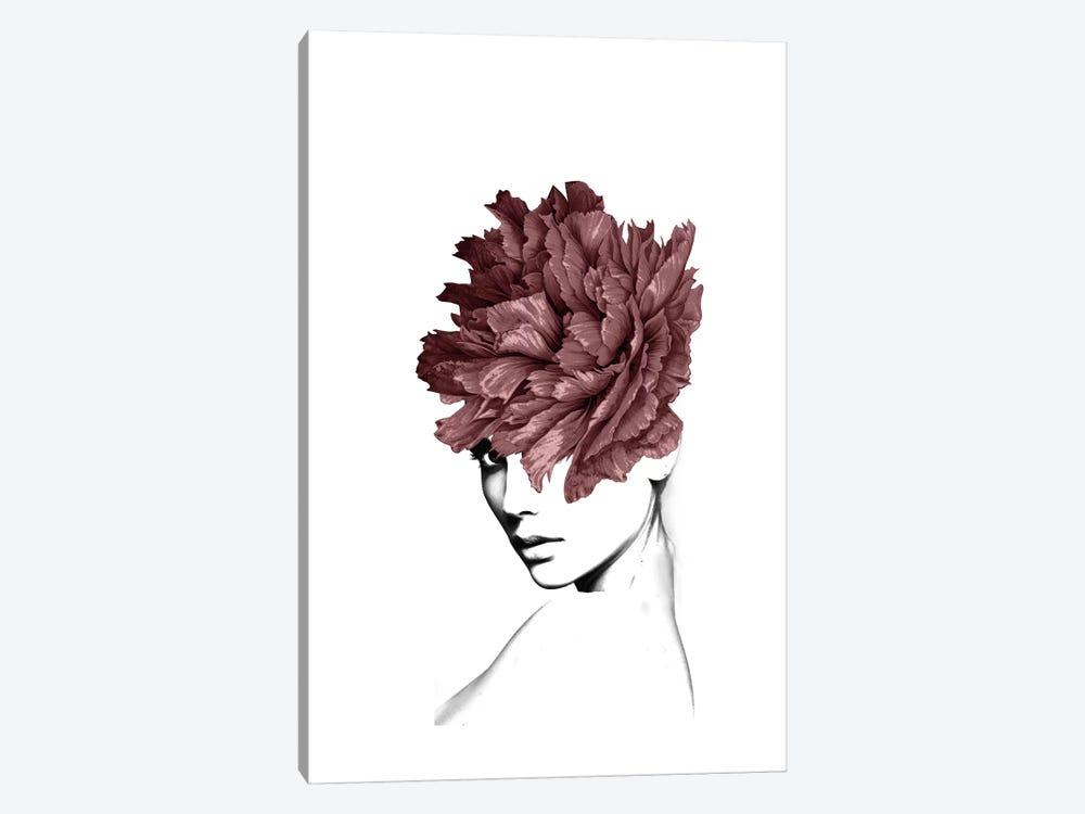 Lady Flower I by Tatiana Amrein 1-piece Canvas Art Print