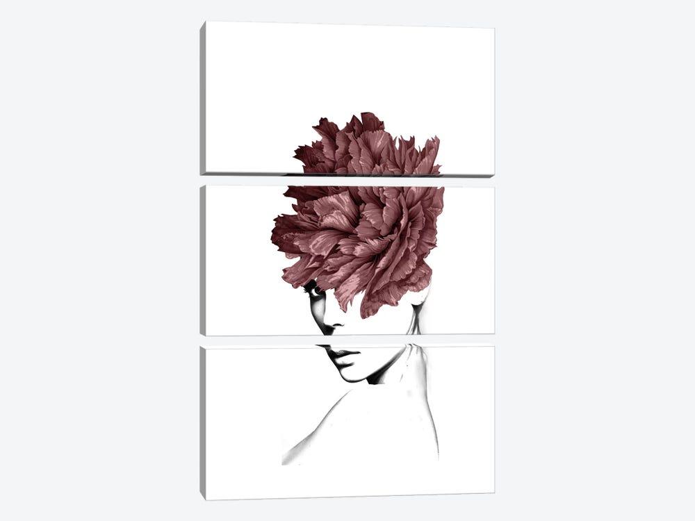 Lady Flower I by Tatiana Amrein 3-piece Art Print