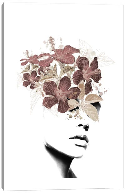 Lady Flower II Canvas Art Print