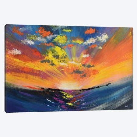 Sky Reflections Canvas Print #AMT11} by Amita Dand Canvas Art Print