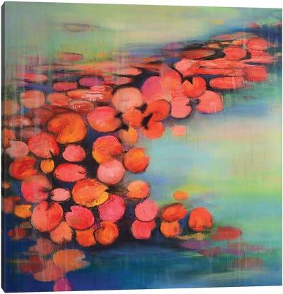 Abstract Pond II Canvas Art Print