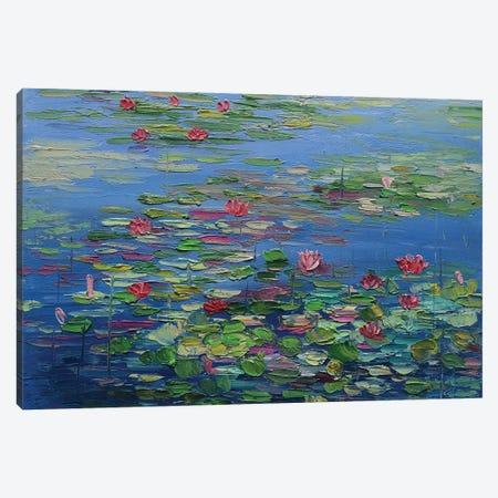 Mini pond Canvas Print #AMT42} by Amita Dand Canvas Art