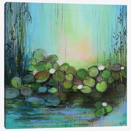 Locked In My Heart Canvas Print #AMT57} by Amita Dand Canvas Wall Art