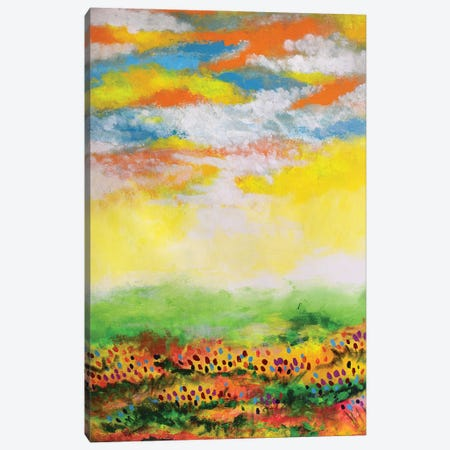 Its A Pleasant Day Canvas Print #AMT6} by Amita Dand Canvas Art Print