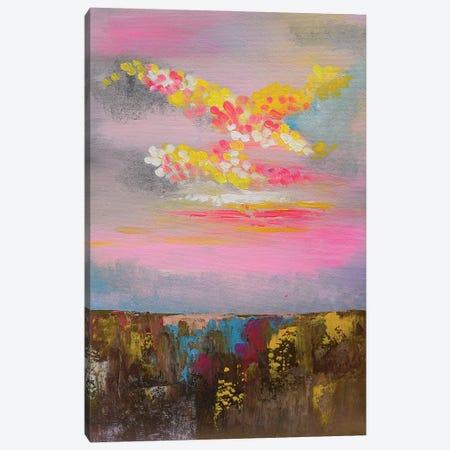 Pink Dreamland Canvas Print #AMT9} by Amita Dand Canvas Wall Art